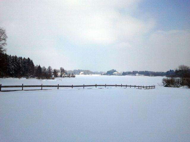 Blick über den See vom Jugendzeltplatz aus