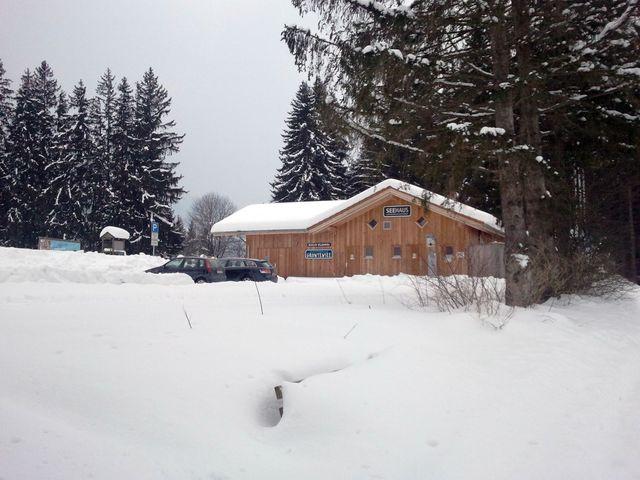 Geschlossene Hütte