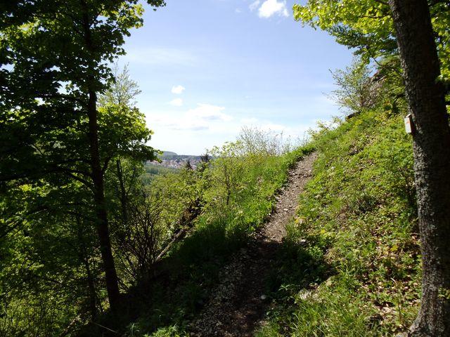 Weg zum Schlossfelsen