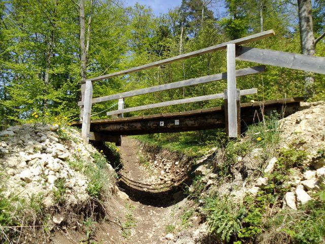 Brücke für die Biker