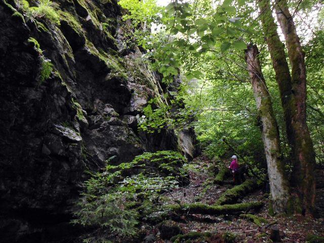 Gute Wände für Kletterer