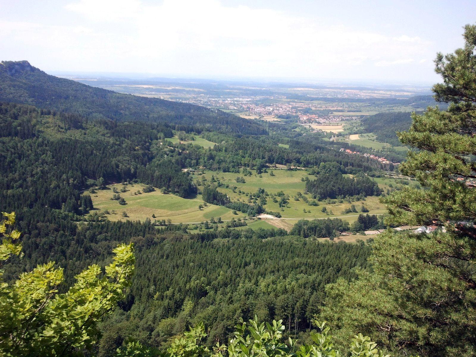 Aussicht vom Gräbelesberg