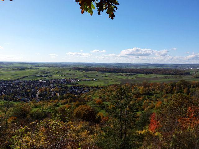 Blick bis zum Schwarzwald