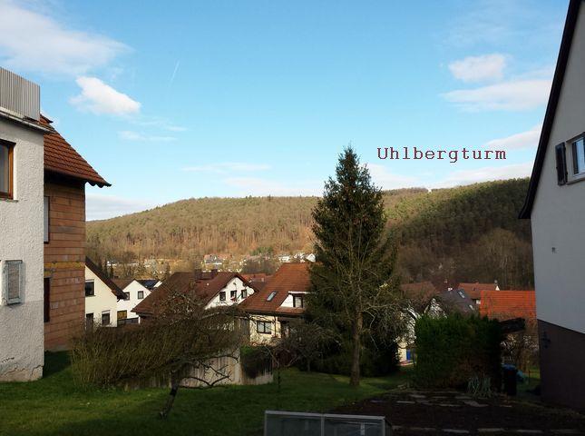 Blick hinüber zum Uhlbergturm