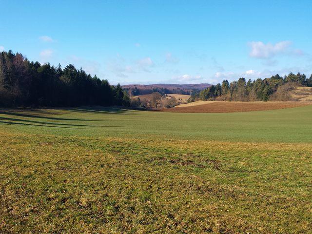 Landschaft bei Hayingen