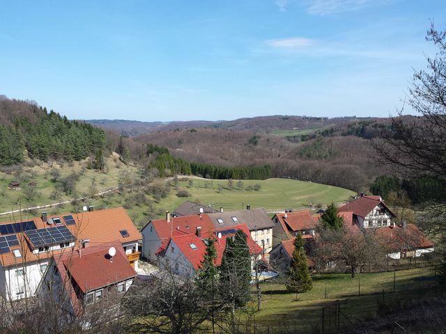Oberhalb von Rietheim