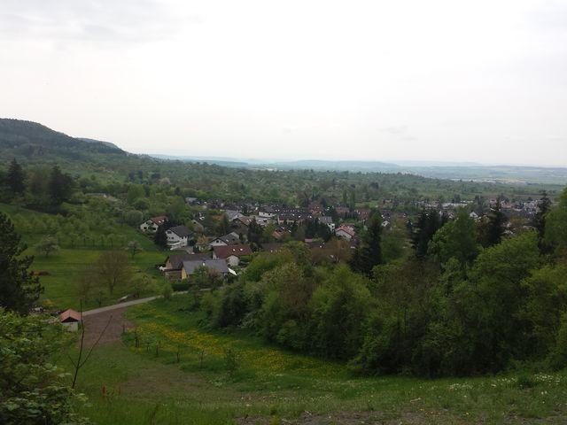 Aussicht auf Herrenberg