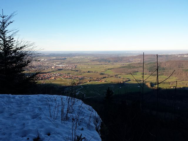 Blick ins Albvorland