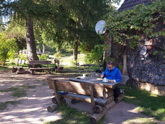 Kaffee und Kuchen in Schwarzenhof