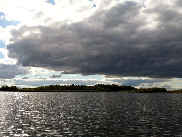 Wolken über dem Jäthensee