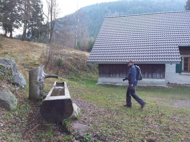 Hütte am Ortsrand